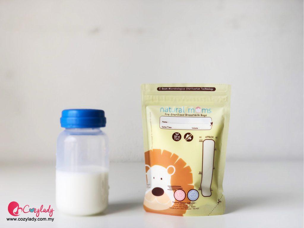 Cara panaskan susu ibu