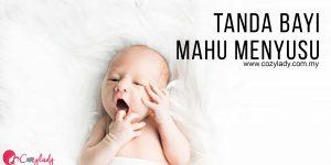Tanda Awal Bayi Mahu Menyusu