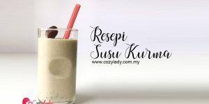 Resepi Susu Kurma untuk Ibu Menyusu
