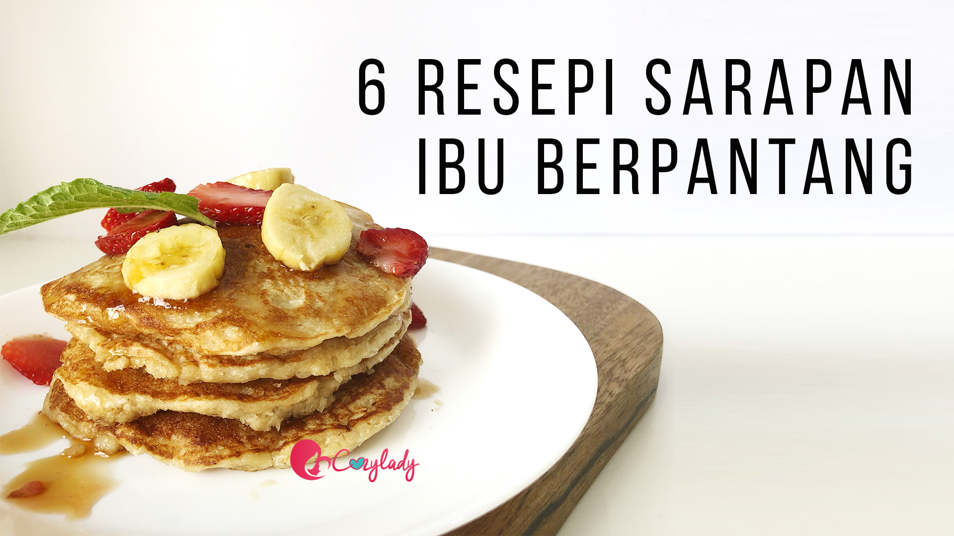 6 resepi sarapan pantang