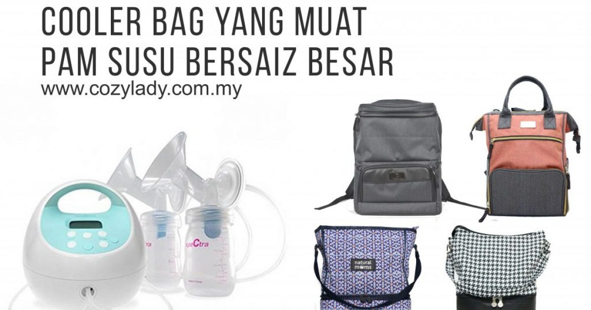 cooler bag yang muat breast pump spectra s1