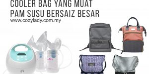Cooler Bag yang Muat Breastpump Spectra S1
