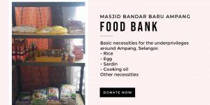 Covid-19 : Kutipan Sumbangan untuk Food Bank